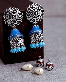 4 in One Interchangeable Bold Jhumki