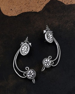 Mohenjo-Daro Cuff Style Earrings
