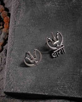 Moksh Ext Trishul Earrings