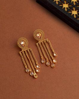 Reversal Saga Tassels Drop Earrings