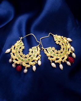 Delicate Kathakali Rati Earrings