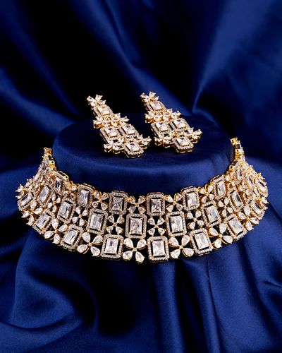 Statement Choker Necklace Set