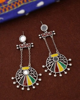 Rabaari Circles Drop Earrings