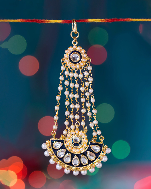 Elegant Passa With Kundan Work