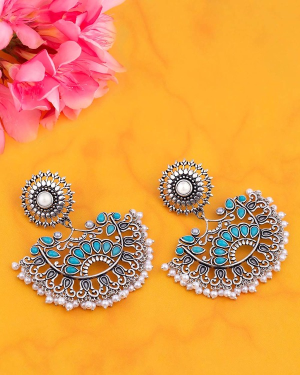 Neerja Half Moon Earrings