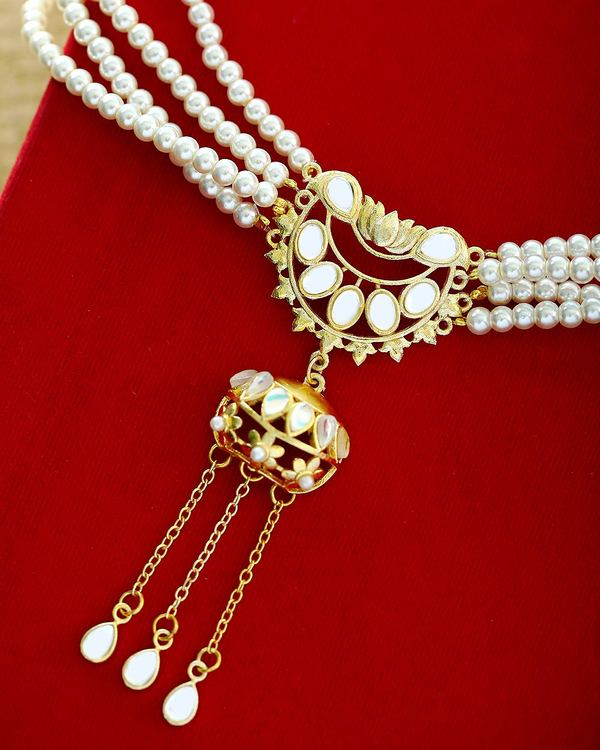 Pacchi Work Necklace Set from Nikaah Collection