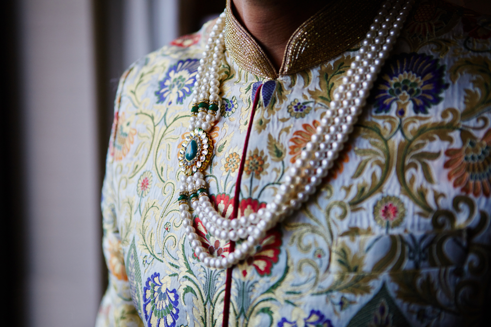 Pearl Necklace for Groom - Groom Accessories