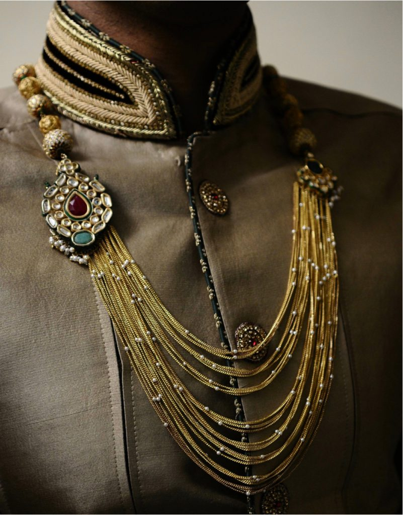 Pearl Necklace for Indian Groom - Groom Accessories