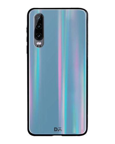 DailyObjects Blueberry Holographic Glass Case Cover