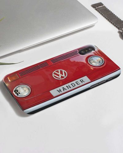 DailyObjects Wander Red Phone Back Case