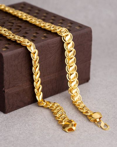 Men's Chain In Gold Plating