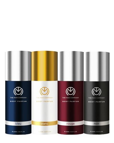 Combo For Multifaceted Man Deodorant Spray-For Men 480 ml, Pack of 4