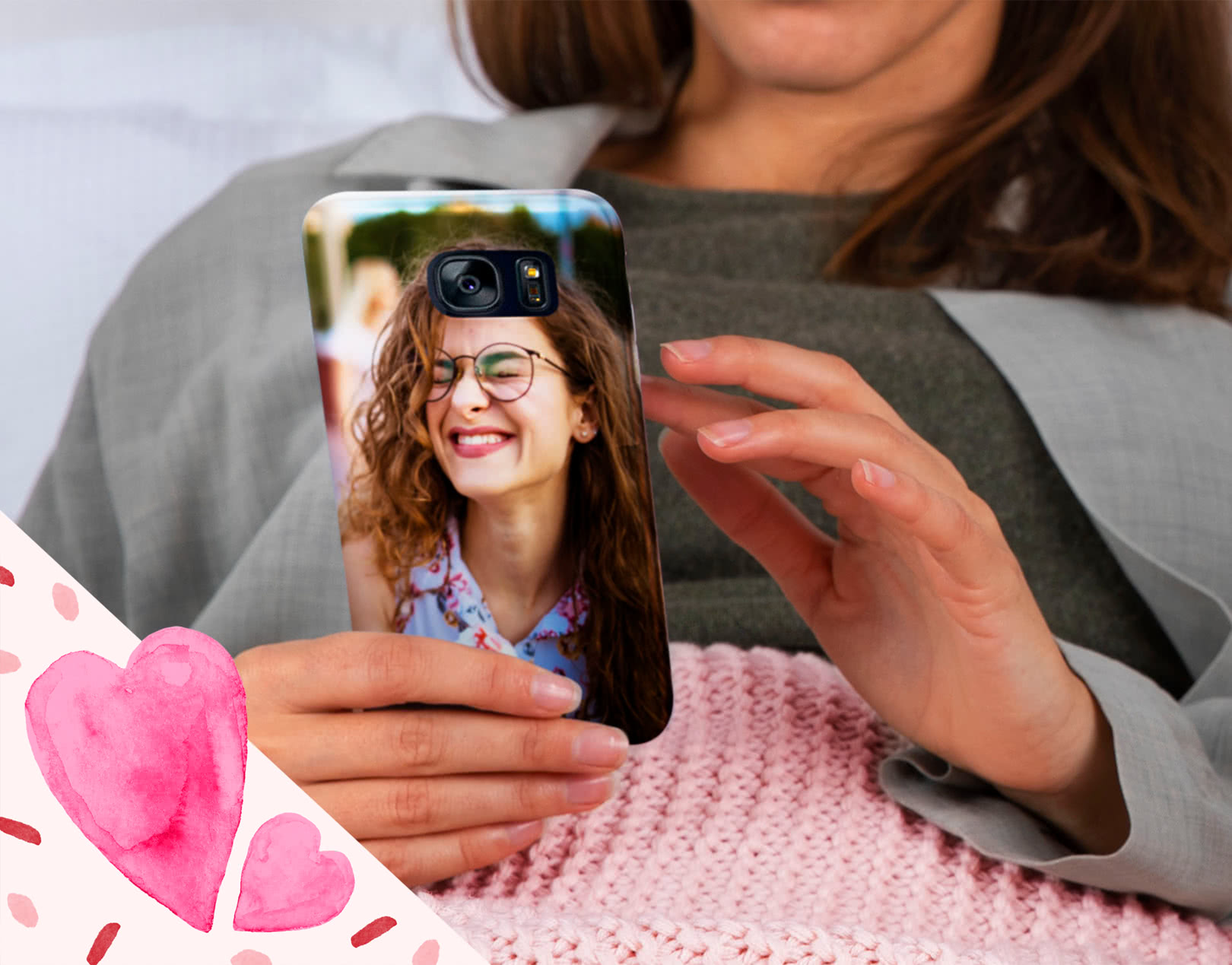 Customized Phone covers for valentine day gift