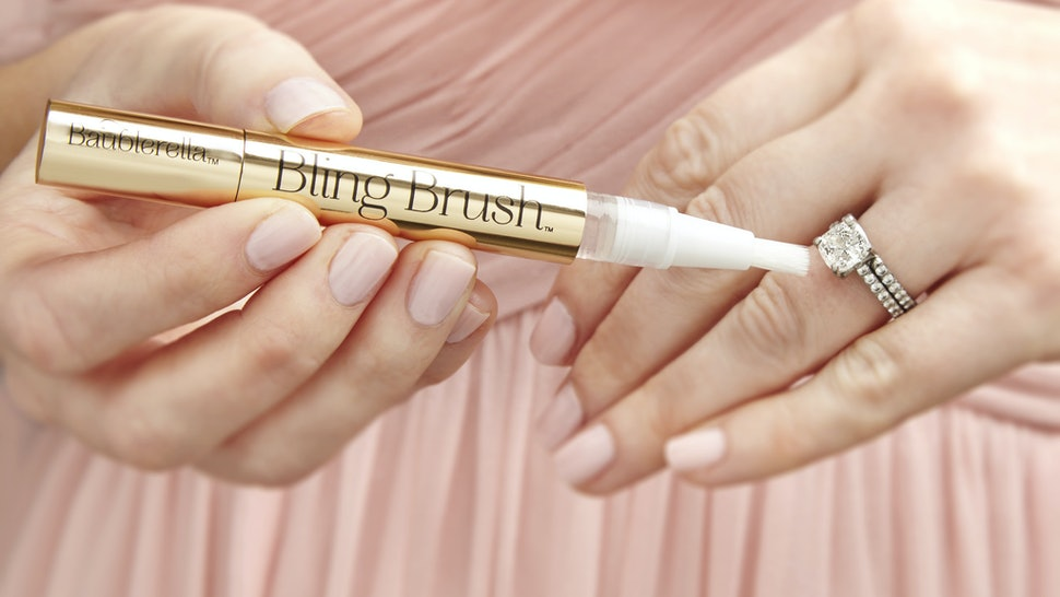 fashion jewellery care tips - bling brush