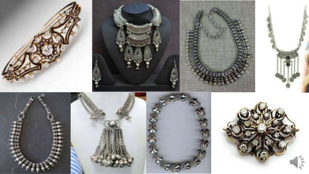fashion jewellery care tips - types of jewellery