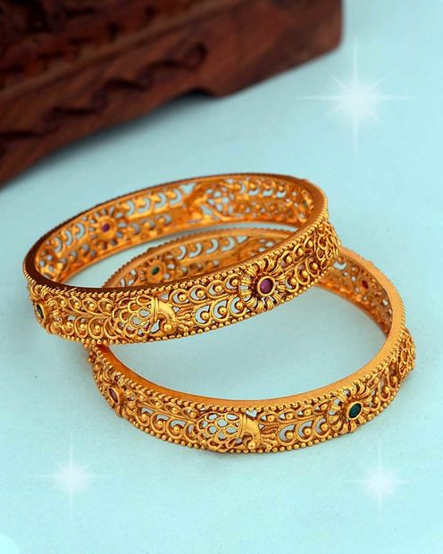 Southern Bling Cutwork Design Bangles