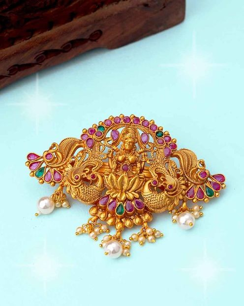Southern Bling Temple Inspired Hair Accessory