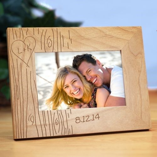 Wooden Picture Frame couples