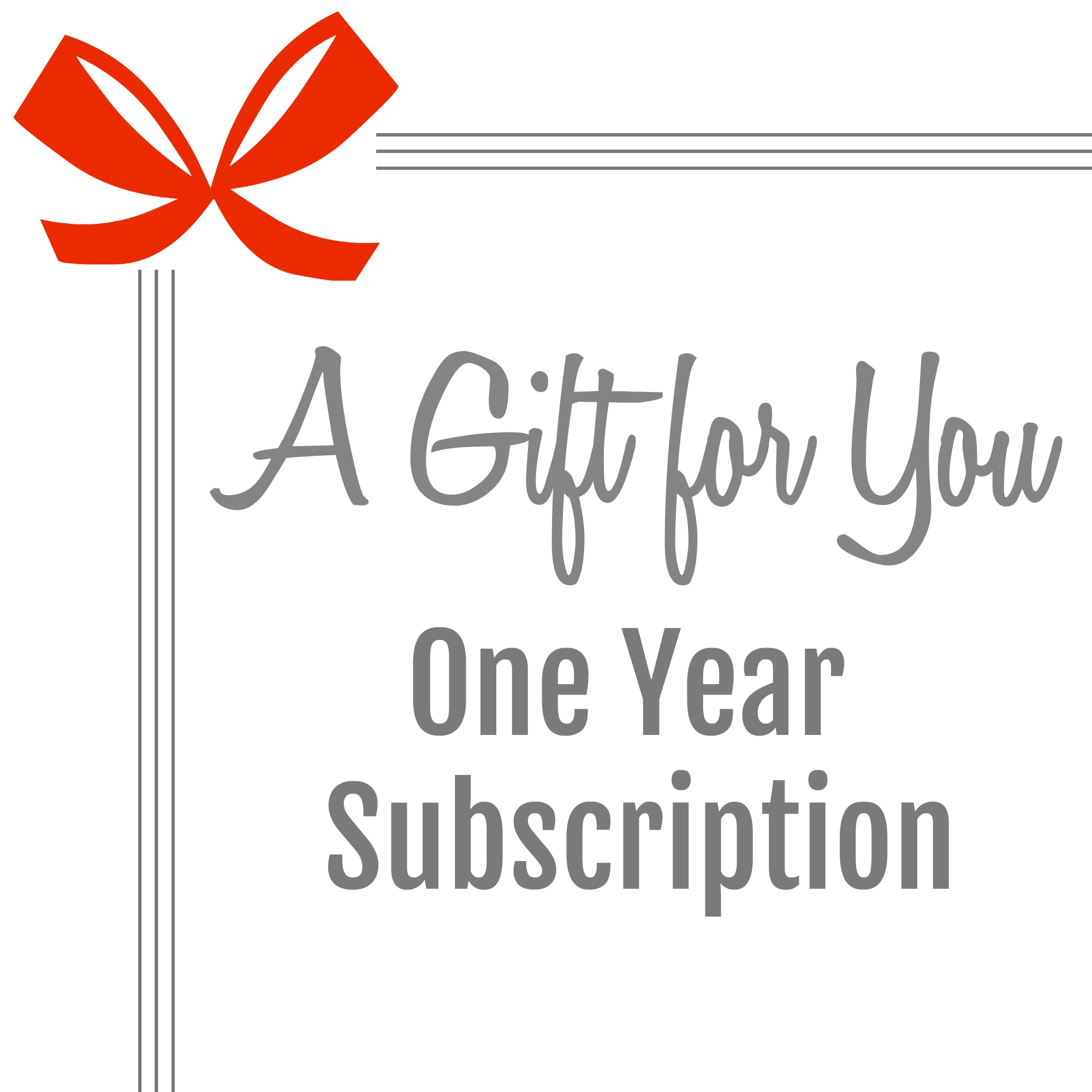 subscription gift
