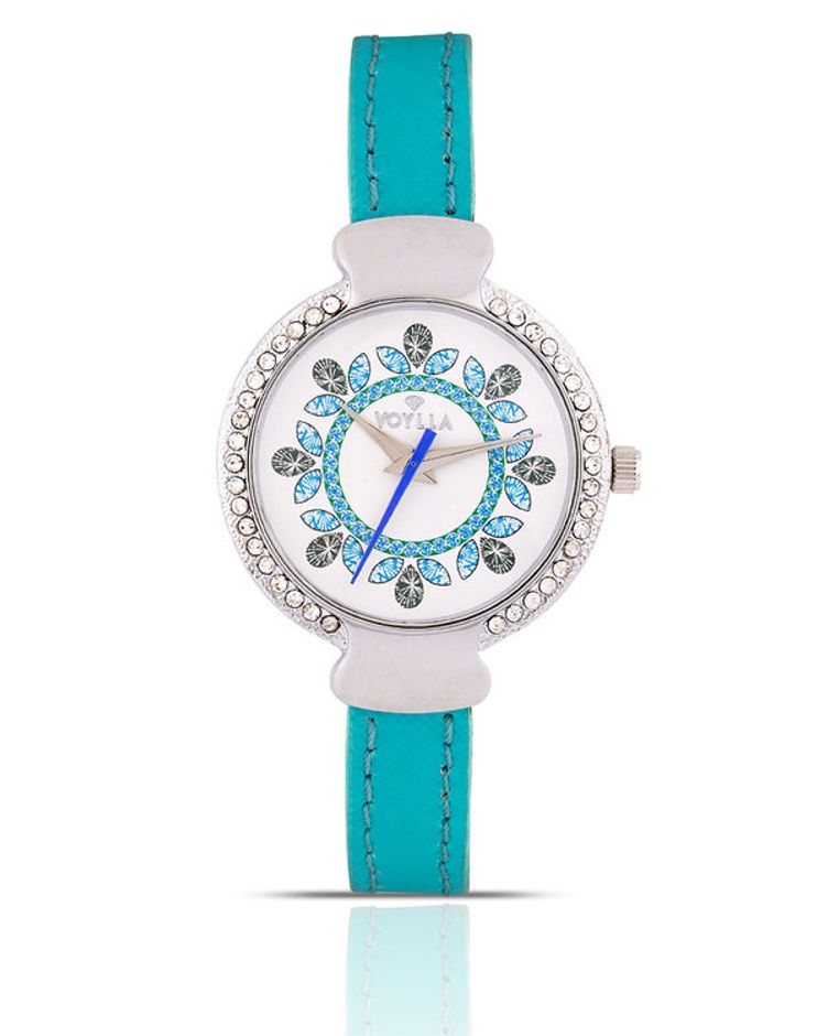 House of Royals Intricate Kaleidoscope Dial Watch