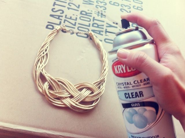 Try A Jewellery Protectant Spray