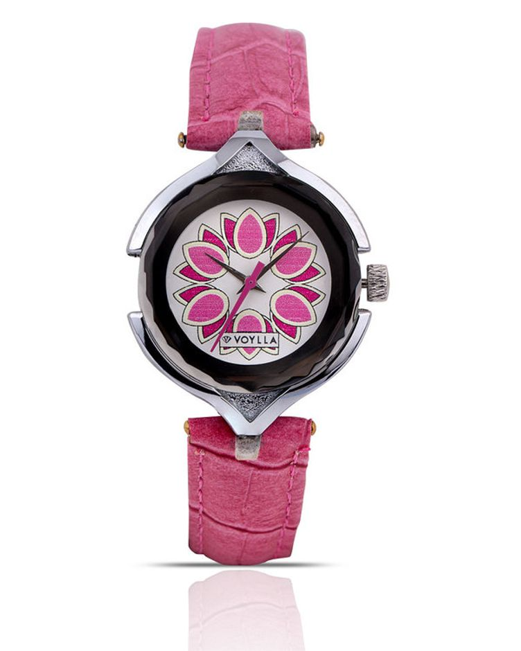 Ombre Pink Kaleidoscope Dial Watch